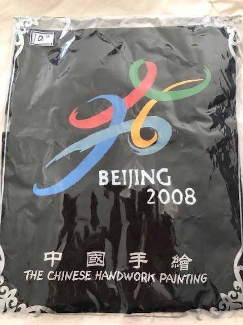 Chinese Hand Painted Olympic 2008 T-shirt