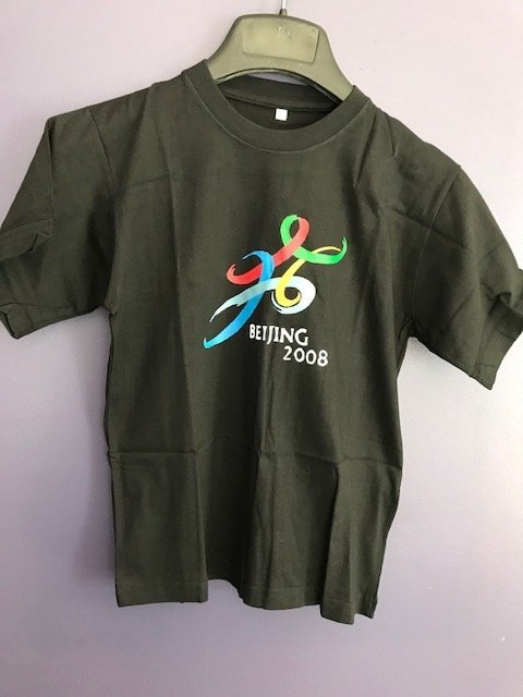 Chinese Hand Painted Olympic 2008 T-shirt - 3