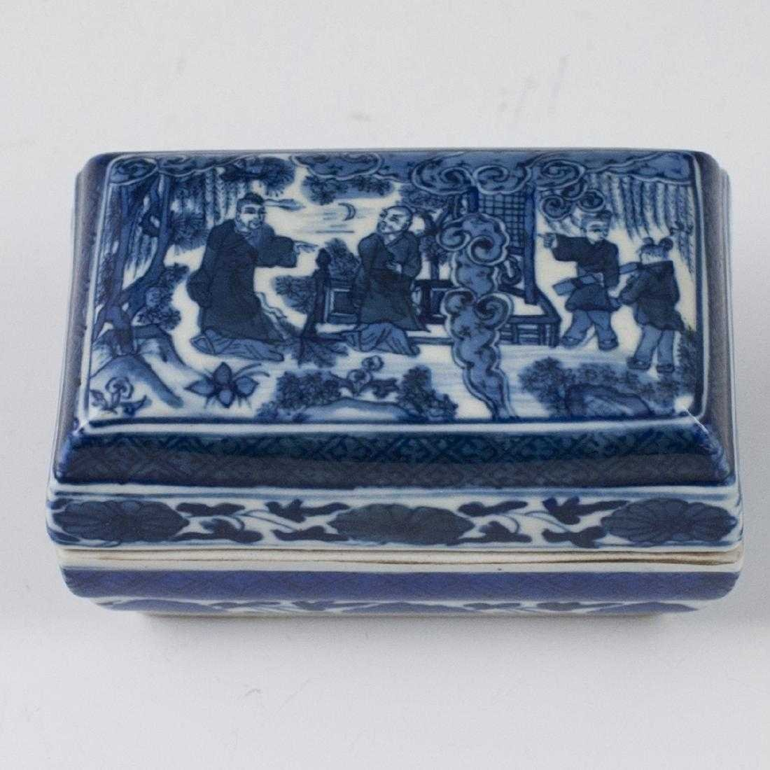 Antique Chinese Porcelain Box - 2