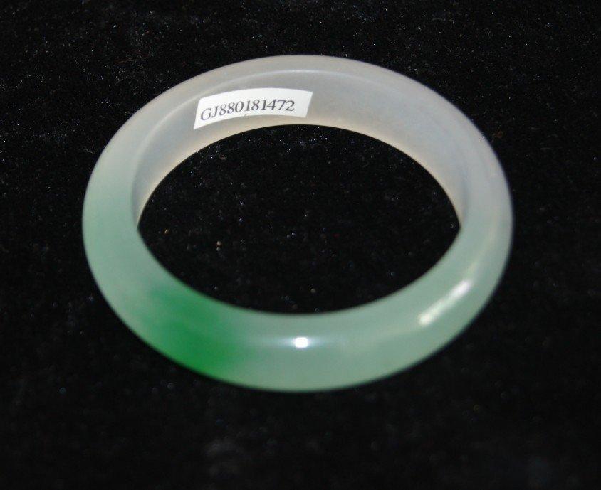 100% Natural A Grade Chinese Jadeite Jade Bangle - 2