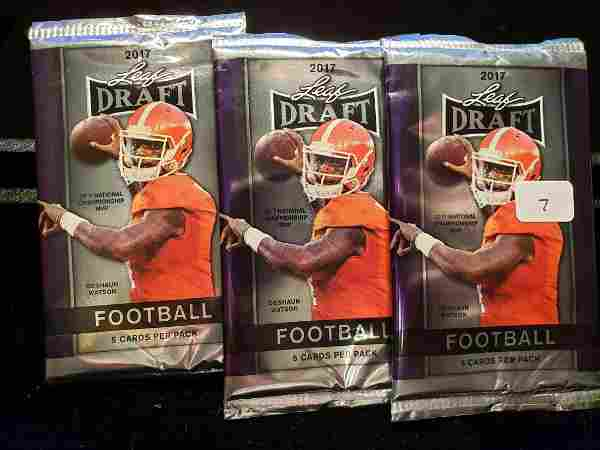 NFL UNOPENED FOOTBALL CARDS