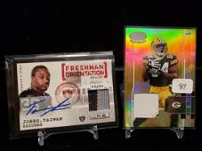 NFL FOOTBALL GAME USED JERSEY MEMORABILIA RELIC CARD