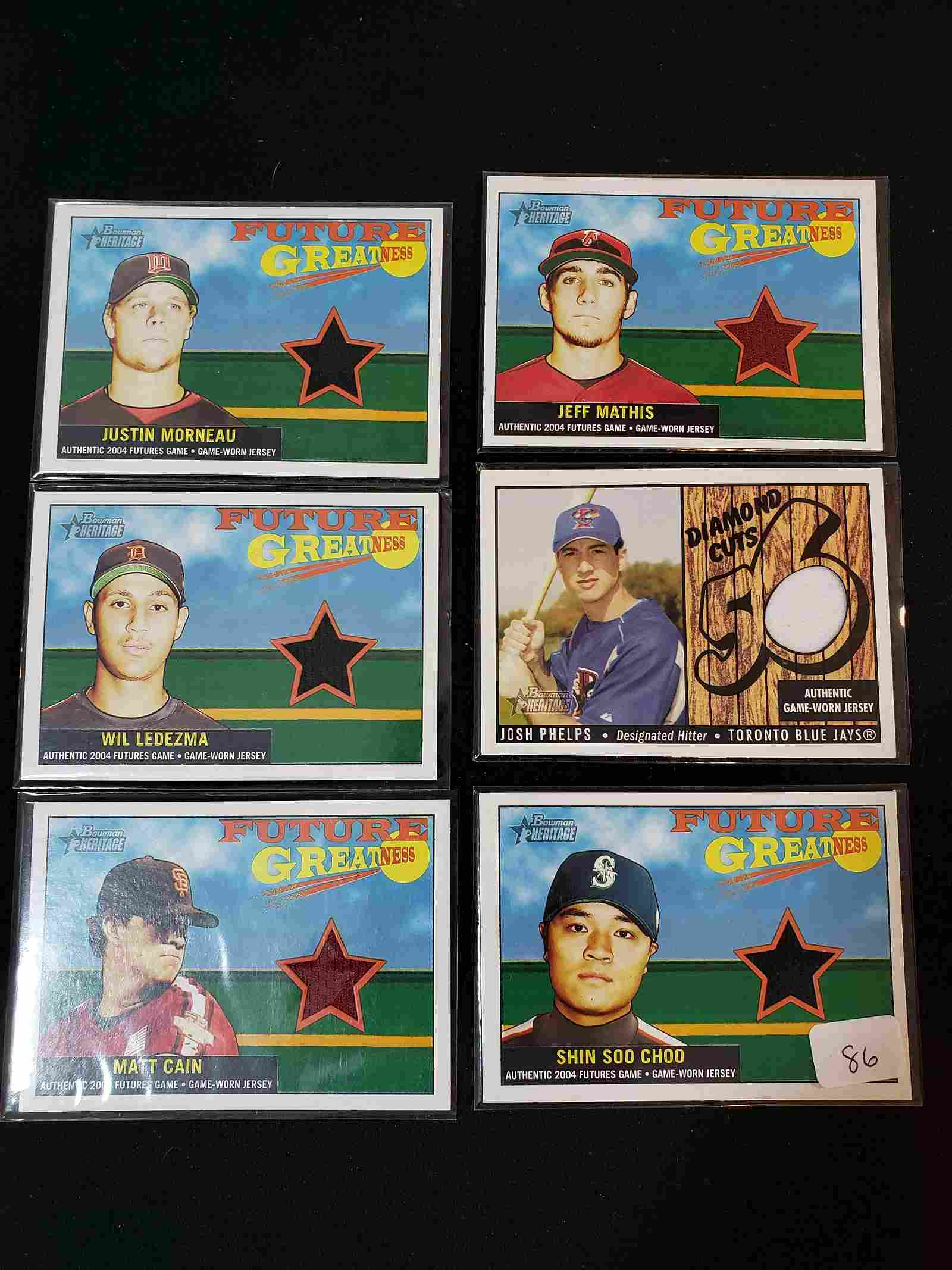 FUTURE GREATNESS GAME USED RELIC LOT