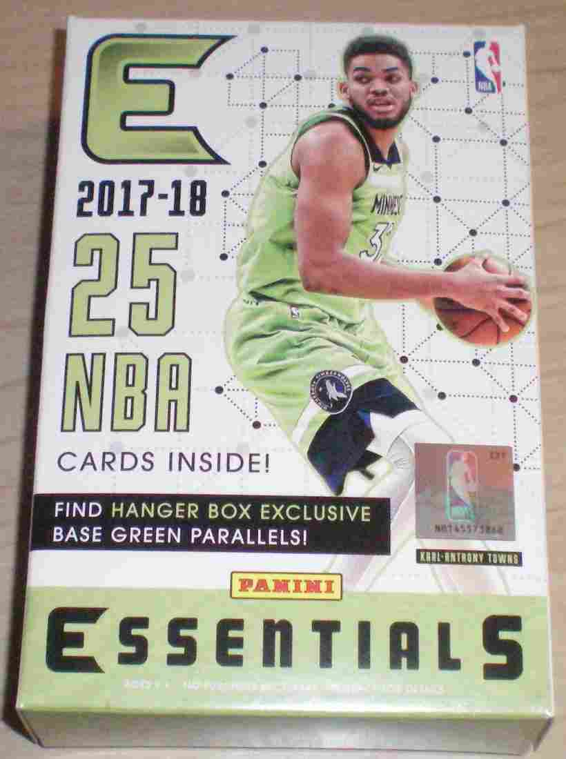 Panini Essentials Basketball Sealed Hanger Box From Cas