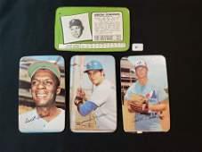 1971 BASEBALL TOPPS SUPER OVER SIZED CARD LOT