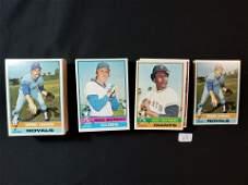 VINTAGE 1976 TOPPS BASEBALL CARDS HIGH GRADE LOT