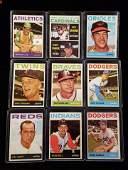 1964 TOPPS VINTAGE BASEBALL CARDS HIGHER GRADE
