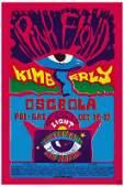 Pink Floyd PROMO POSTER Pepperland Auditorium 13X18