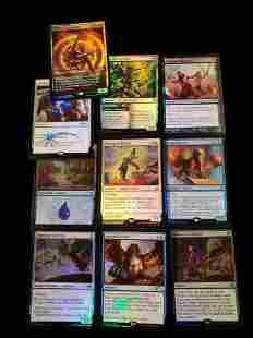 MAGIC THE GATHERING HOLO FOIL GAME CARDS