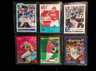 BASEBALL SHORT PRINT NUMBERED ROOKIE CARDS