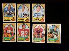 VINTAGE 1970 TOPPS FOOTBALL CARDS EXCELLENT CONDITION