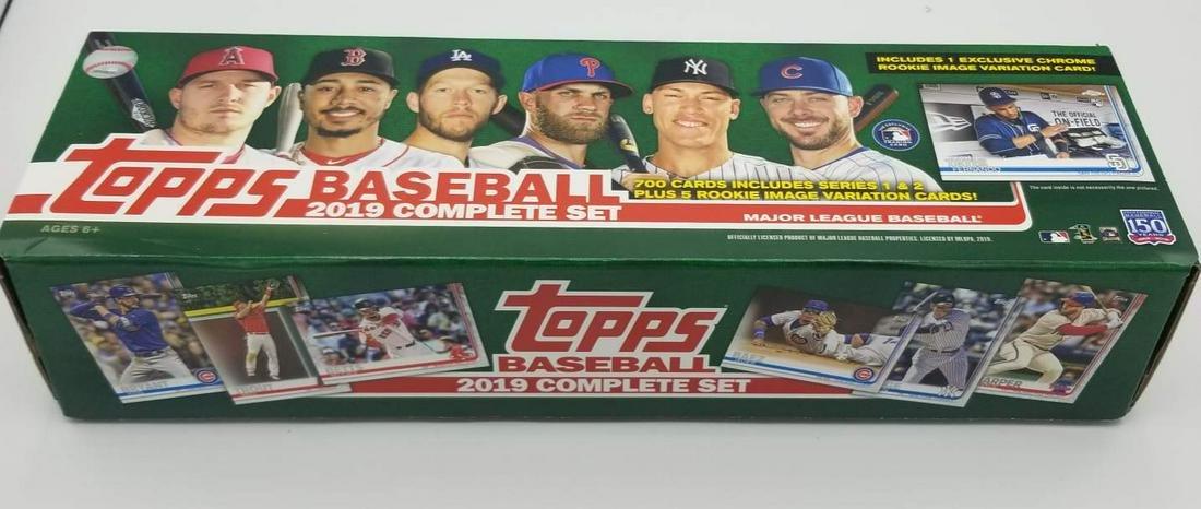 2019 Topps Factory Set - Series 1 & 2 - OPEN BOX