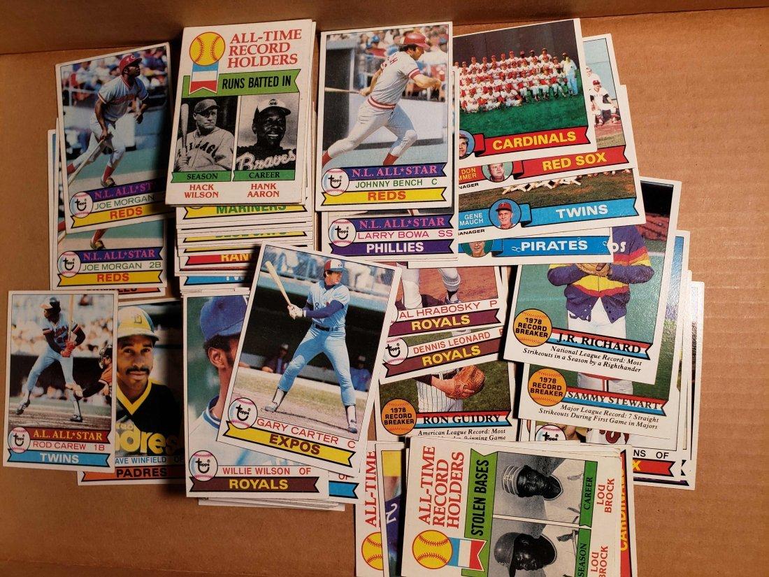 VINTAGE 1979 TOPPS BASEBALL CARDS W/ STARS HOFERS