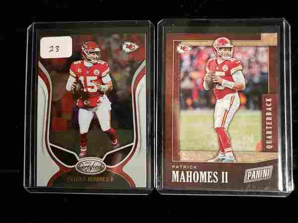 PATRICK MAHOMES 2018 NFL MVP FOOTBALL CARDS