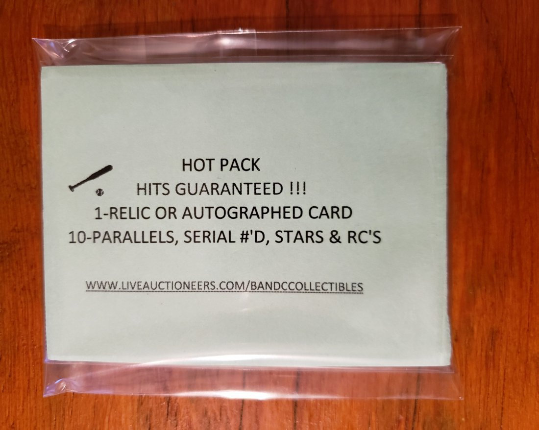 BASEBALL HOT PACK WITH A HIT IN EVERY PACK
