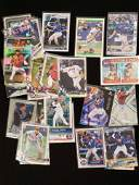LOT OF 40 BASEBALL ROOKIE CARDS