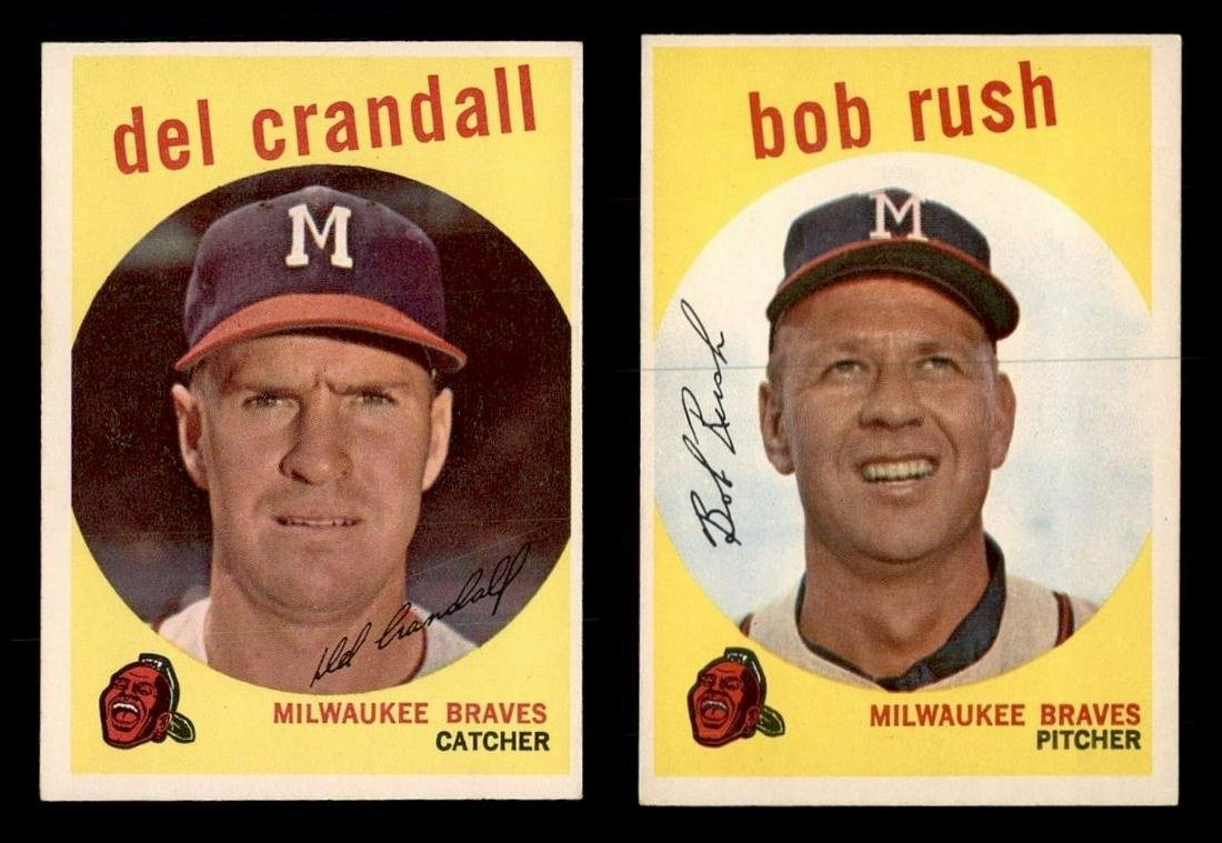VINTAGE SET BREAK HIGHER GRADE 1959 TOPPS BASEBALL