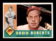 1960 Topps 264 Robin Roberts Philadelphia Phillies