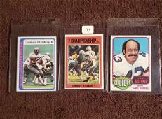 VINTAGE DALLAS COWBOYS FOOTBALL CARDS