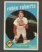 1959 Topps 352 Robin Roberts Phillies