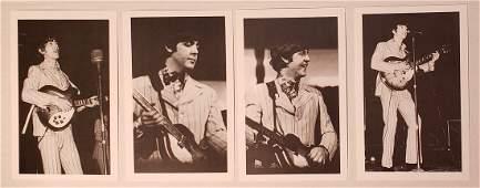 BEATLES CONCERT PHOTOS/POSTCARDS 1964 R. WIMMER ARCHIVE