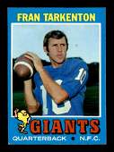 1971 TOPPS FOOTBALL CARDS EXEXMT