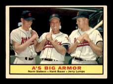 1961 TOPPS BASEBALL CARDS STARS AND LEGENDS