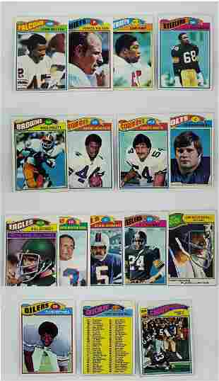 1977 TOPPS FOOTBALL CARDS EX CONDITION