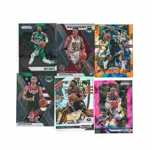 PRIZM NBA BASKETBALL CARDS WITH STARS AND ROOKIES