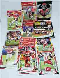 LOT OF 15 KANSAS CITY CHIEFS FOOTBALL CARDS