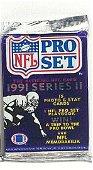 1991 PRO SET NFL SEALED FOOTBALL PACK