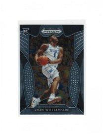 2020 PANINI  ZION WILLIAMSON ROOKIE CARD