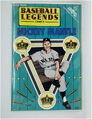 Mickey Mantle 1992 Baseball Legends Comic BOOK
