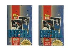 1994 TOPPS BASEBALL SERIES 1 HOBBY PACKS