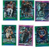 LOT OF 6 PANINI PRIZM ROOKIE BASKETBALL CARDS
