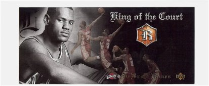 2004 Upper Deck LeBron James King of the Court RC