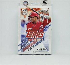 2021 Topps Series 1  Baseball sealed Hanger box
