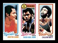 1980-81 Topps Basketball Panel