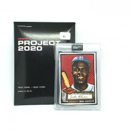 Topps Project 2020 Jackie Robinson Encased Card