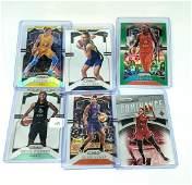 Lot of 6 Panini Prizm WNBA Basketball Cards
