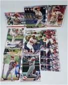 20 Topps and Bowman Baseball Cards