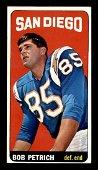 1965 Topps FB Tall Boys Bob Petrich RC EX