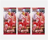 Pokemon TCG Japanese Battle Styles Booster Packs