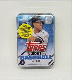 2021 Topps Baseball Aaron Judge Sealed Tin