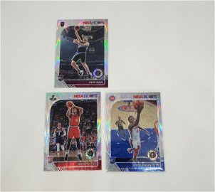 LOT OF 3 NBA HOOPS ROOKIE BASKETBALL CARDS