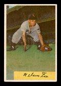 1954 BOWMAN BASEBALL #6 NELLIE FOX HOFER