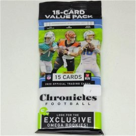 2020 PANINI CHRONICLES NFL FOOTBALL CELLO VALUE PK
