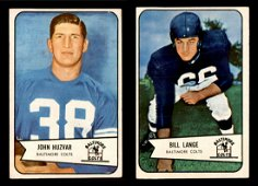 VINTAGE 1954 BOWMAN FOOTBALL CARDS IN GREAT CONDITION!!