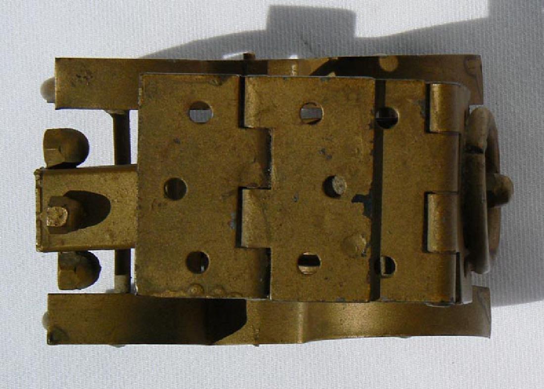 Small Folk Art metal model of an antique car - 6