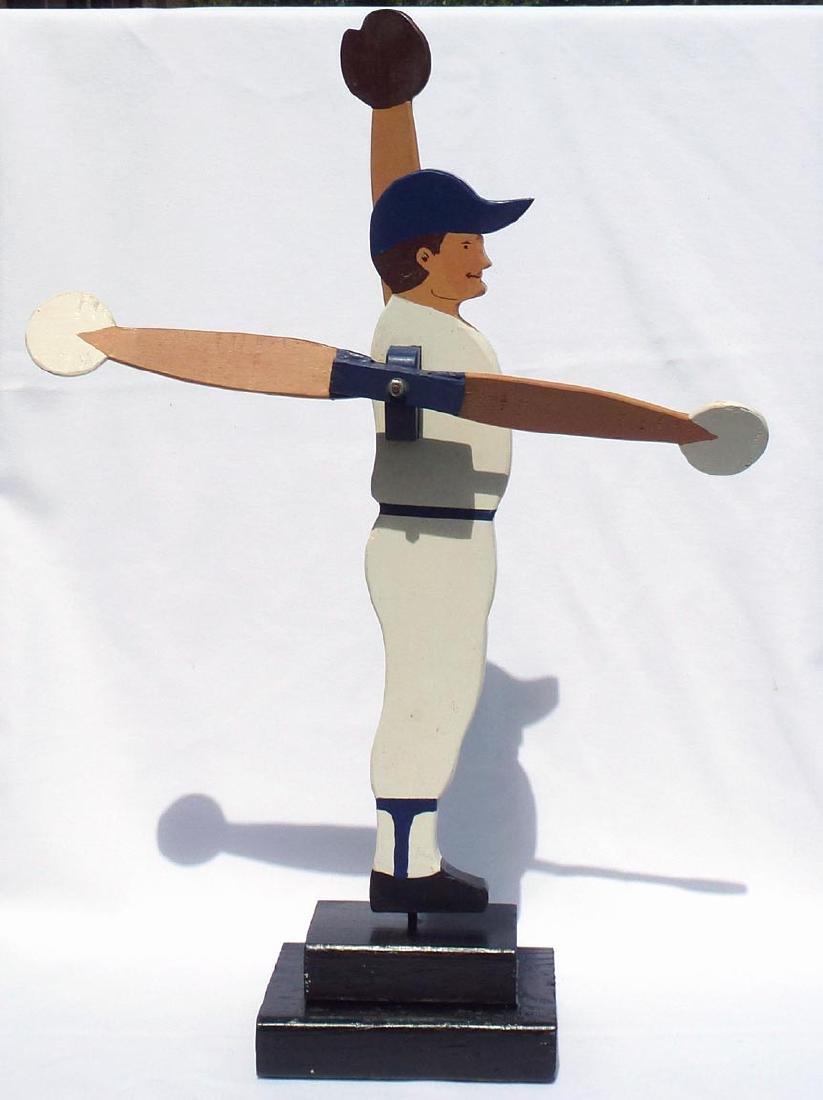 Baseball player whirligig Chicago Cubs #31